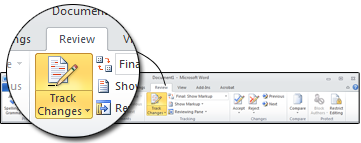 Track Changes is a great feature of Microsoft Word